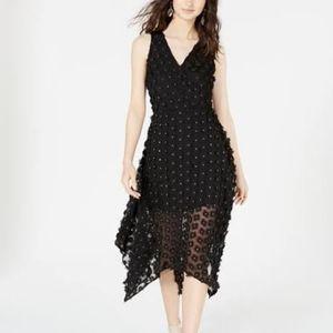 kensie  3D Floral Fit & Flare Dress 2